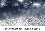 magic blue holiday abstract... | Shutterstock . vector #539651041
