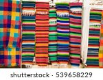 traditional rugs at market on... | Shutterstock . vector #539658229