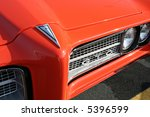 pontiac gto muscle car front...   Shutterstock . vector #5396599