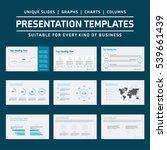 set of infographic presentation ...