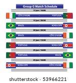 group g football championship ... | Shutterstock .eps vector #53966221