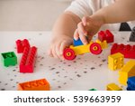 close up of child's hands... | Shutterstock . vector #539663959