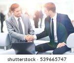 business team discussing... | Shutterstock . vector #539665747