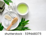 spa background with a space for ... | Shutterstock . vector #539668375