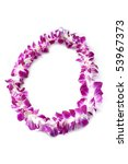 Hawaiian Lei Made Of Large...