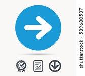 arrow icon. next navigation...