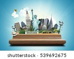 new york  | Shutterstock . vector #539692675