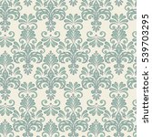 vintage background for textile... | Shutterstock . vector #539703295