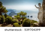 panorama of capri island from... | Shutterstock . vector #539704399
