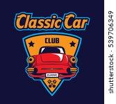 classic car logo | Shutterstock .eps vector #539706349
