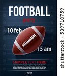 american football championship... | Shutterstock .eps vector #539710759
