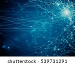 abstract hexagonal wallpaper... | Shutterstock . vector #539731291