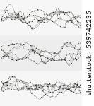 modern abstract vector... | Shutterstock .eps vector #539742235