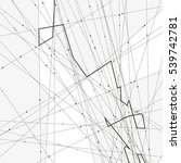 monochrome minimalistic vector... | Shutterstock .eps vector #539742781