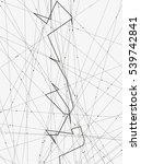 monochrome minimalistic vector... | Shutterstock .eps vector #539742841