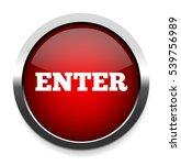 enter button | Shutterstock .eps vector #539756989