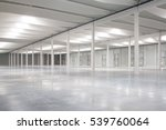 empty logistic hall | Shutterstock . vector #539760064