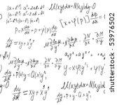 mathematics | Shutterstock .eps vector #53976502