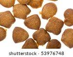 object on white   food cracker... | Shutterstock . vector #53976748