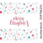 merry christmas | Shutterstock .eps vector #539786251
