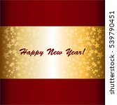 Happy New Year  Ribbon With...