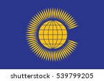 flag of the commonwealth of... | Shutterstock .eps vector #539799205