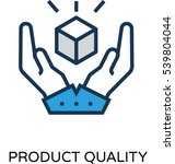 product quality vector icon  | Shutterstock .eps vector #539804044