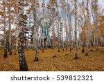 The Ferris Wheel In The Autumn...