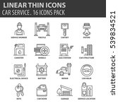 set of thin line flat icons....   Shutterstock .eps vector #539834521