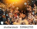 christmas manger scene with...   Shutterstock . vector #539842705