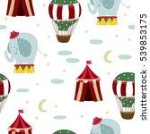 circus pattern | Shutterstock .eps vector #539853175