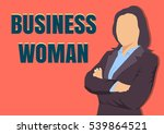 vector business woman.