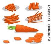 abstract vector illustration... | Shutterstock .eps vector #539865505