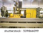 machinery for melting and... | Shutterstock . vector #539866099