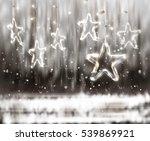 christmas background of de... | Shutterstock .eps vector #539869921
