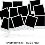 photo frames for designs and... | Shutterstock . vector #5398780