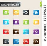 houses icons for your design... | Shutterstock .eps vector #539890159
