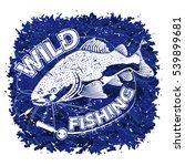 catfish blue logo. illustration ...   Shutterstock .eps vector #539899681