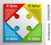 puzzle piece business... | Shutterstock .eps vector #539900539