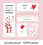 valentine day congratulation...   Shutterstock . vector #539916061