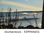 a surfer waiting for cold waves ... | Shutterstock . vector #539944651
