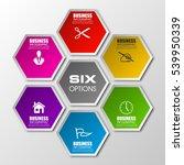 information infographic... | Shutterstock .eps vector #539950339