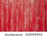Red Wooden Vintage Style...