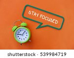 stay focused  business concept | Shutterstock . vector #539984719