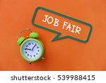 job fair  business concept | Shutterstock . vector #539988415