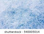 Rime, frost, ice texture.  ice pattern texture