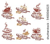 home made cooking  logo... | Shutterstock .eps vector #540006025