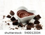 melting chocolate   melted... | Shutterstock . vector #540012034