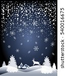 merry christmas and happy new... | Shutterstock .eps vector #540016675