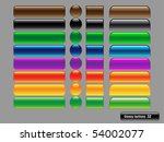vector glossy buttons for web... | Shutterstock .eps vector #54002077
